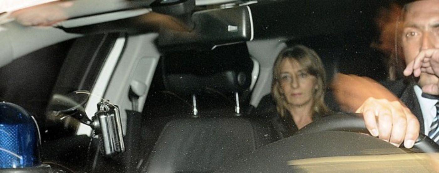 Escracharon a Gils Carbó en el velatorio de Nisman