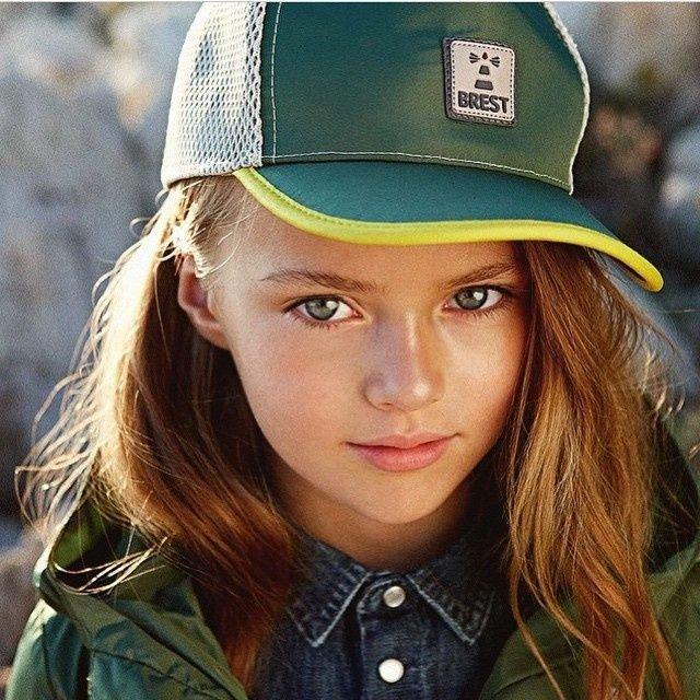 La chica más linda del mundo tiene nueve años
