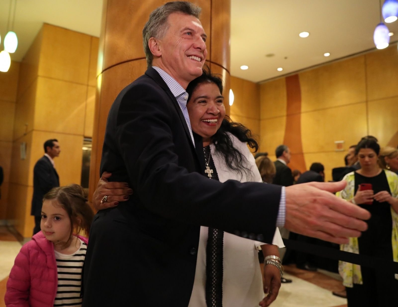 """Se deshojó la Margarita: Barrientos dijo que """"es difícil opinar de Macri en este momento"""""""