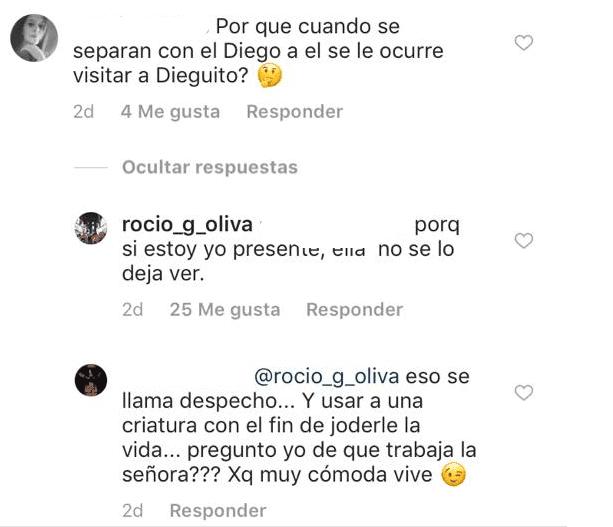 """Explotó Rocío Oliva y apuntó de lleno contra Verónica Ojeda: """"Mala como la peste y..."""""""