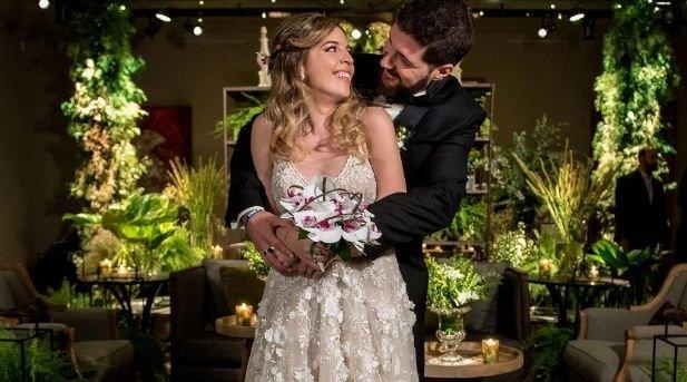 Dalma se casó con Andrés Caldarelli en abril del 2018.