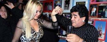 ¡Bomba! La historia detrás de la sorpresiva reconciliación entre Diego Maradona y Verónica Ojeda