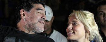 """Diego Maradona habló de su nuevo romance con Ojeda y liquidó a Oliva: """"Me hizo de todo"""""""
