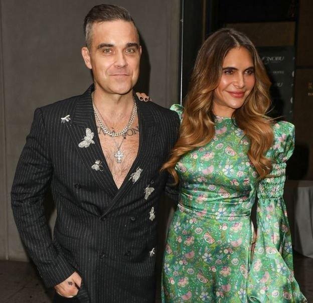 La esposa de Robbie Williams y Amalia Granata ¿Parecidas?
