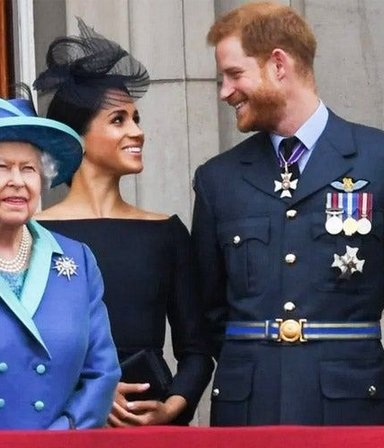 Furia real: Isabel II y el cachetazo inesperado contra Meghan y el príncipe Harry