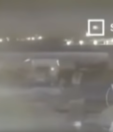 Horror: el segundo video que muestra el impacto de los dos misiles iraníes contra el avión ucraniano