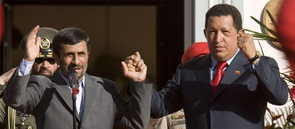 Chavez y Ahmadinejad en grandes y mejores épocas.| Juan Carlos Olive