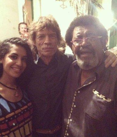 Candombe rollinga: Mick Jagger bailó con el Negro Rada