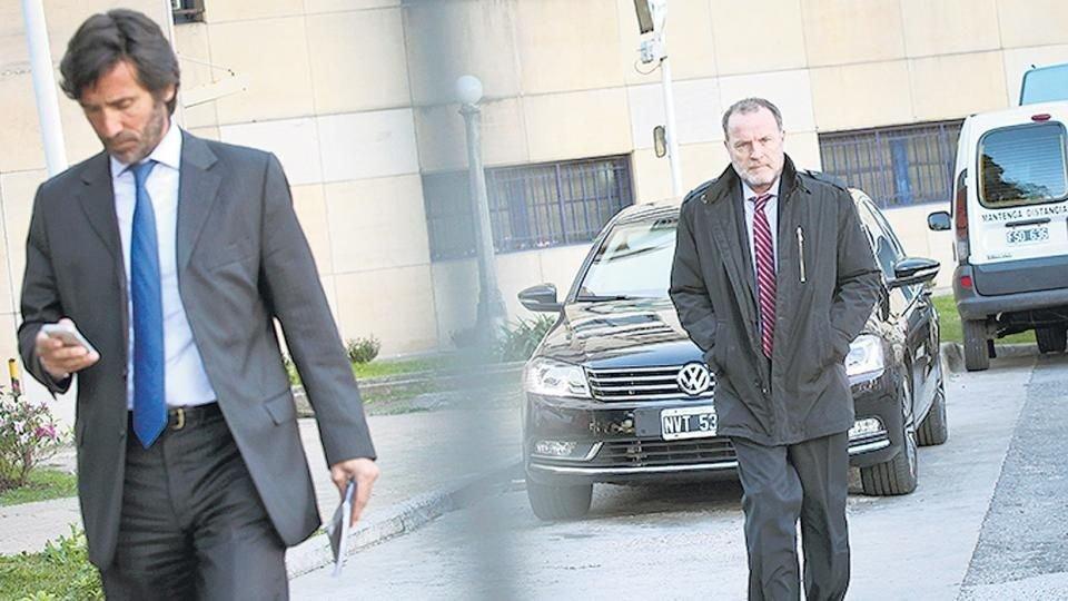 La querella desistió de presentar acusación a los ex fiscales José Barbaccia y Eamon Mullen.