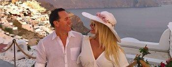Adiós crisis de pareja: Vicky Xipolitakis renovó los votos matrimoniales con su esposo