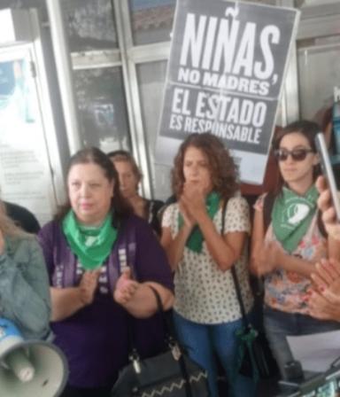 Indignante: la nena violada en Tucumán pidió un aborto y fue forzada a dar a luz sin su consentimiento