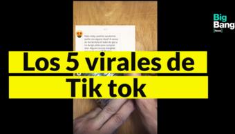 VIDEONOTA   Los 5 virales del momento de Tik Tok y las cuentas que tenés que seguir (si te querés reir un rato)
