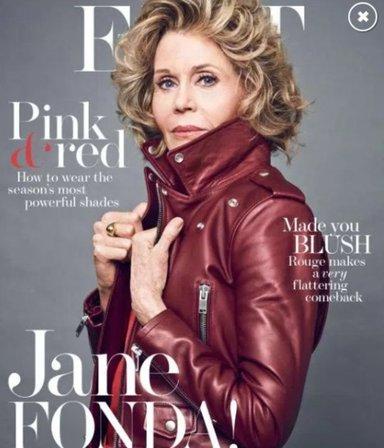 A los 79 años Jane Fonda confiesa que fue violada cuando era una nena