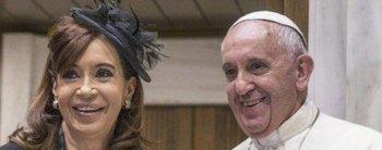 """Cinco años del Papa Francisco y el desopilante recuerdo de Cristina: """"Me estaba haciendo los rulos, literal"""""""
