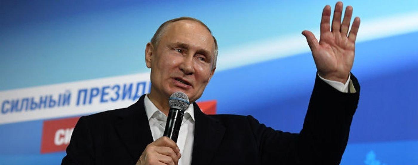 Por siempre Putin: el presidente ruso obtiene el 72 por ciento de los votos y se queda hasta 2024