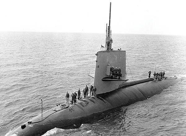 El USS Scorpion fue el segundo submarino que perdió el Gobierno. Los 99 tripulantes murieron.