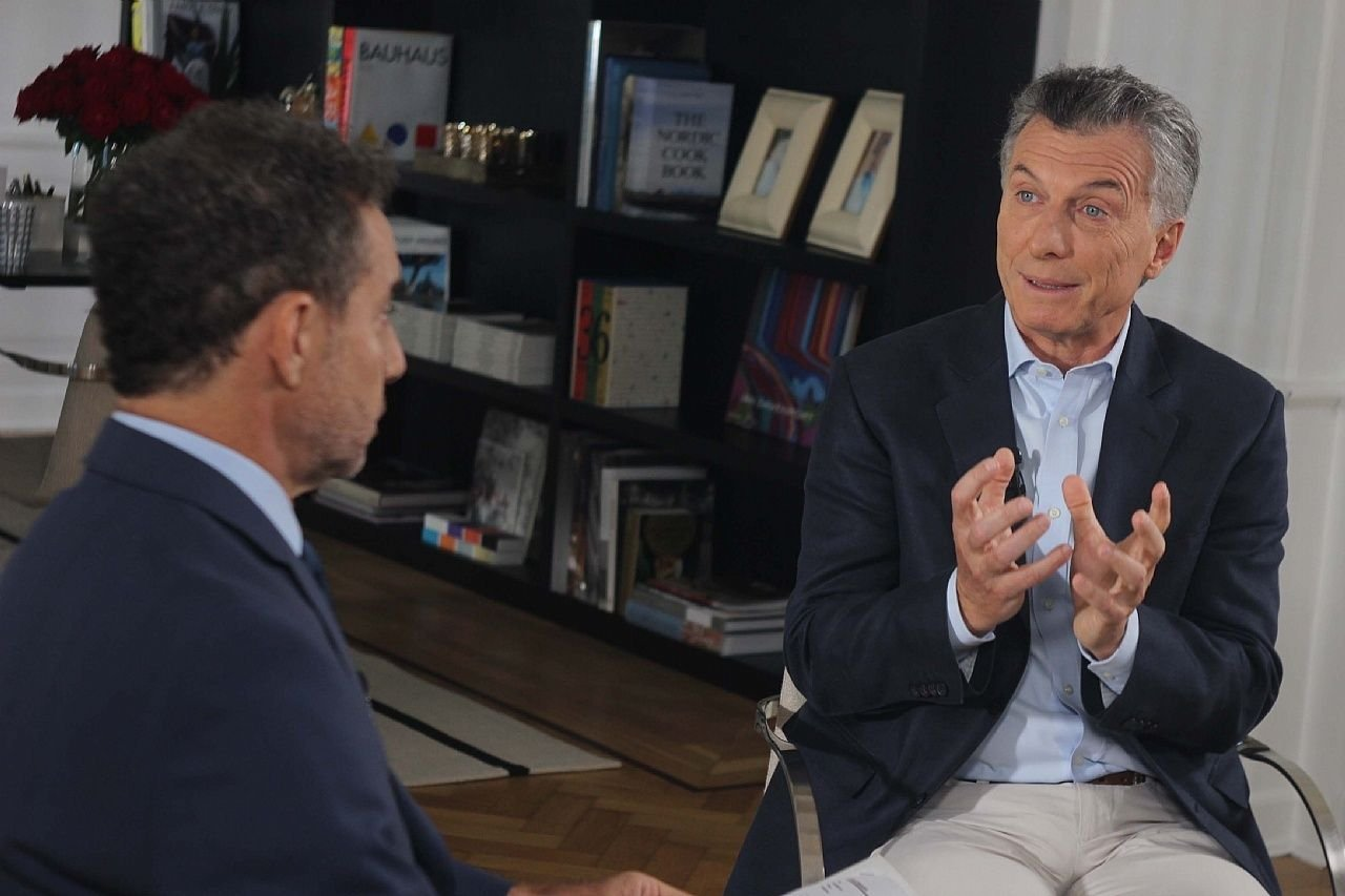 Macri, recargado: acusó a su padre, apuntó contra Cristina y les bajó el precio a Lavagna y a Tinelli