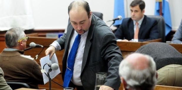Sergio Rondoni Caffa, hoy juez, fue uno de los fiscales del juicio contra Nahir Galarza.
