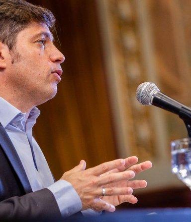 """Kicillof: """"Heredamos un sistema de Salud diezmado y una crisis social y económica"""""""