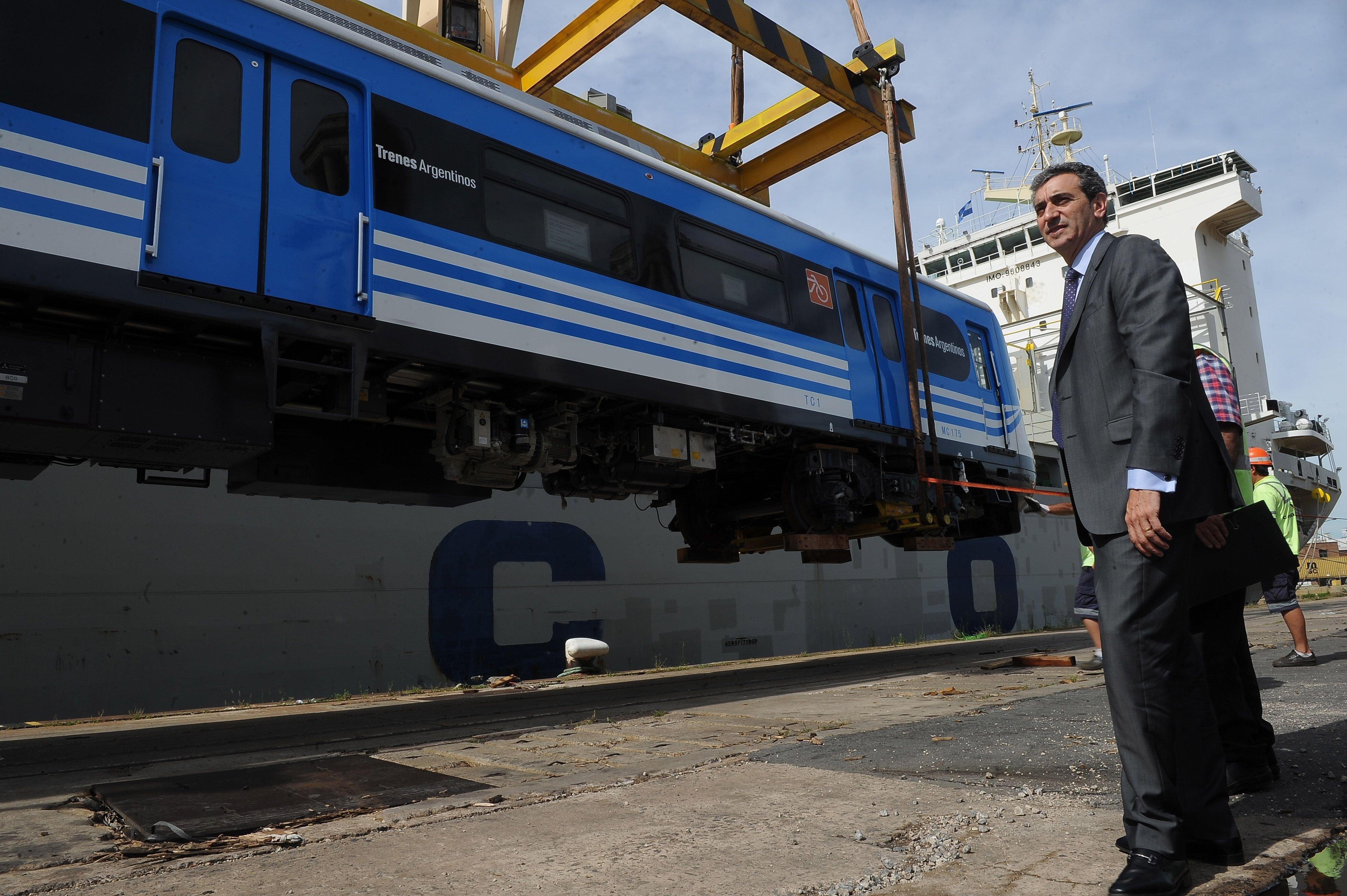 Llegan los nuevos trenes para la Línea Roca|
