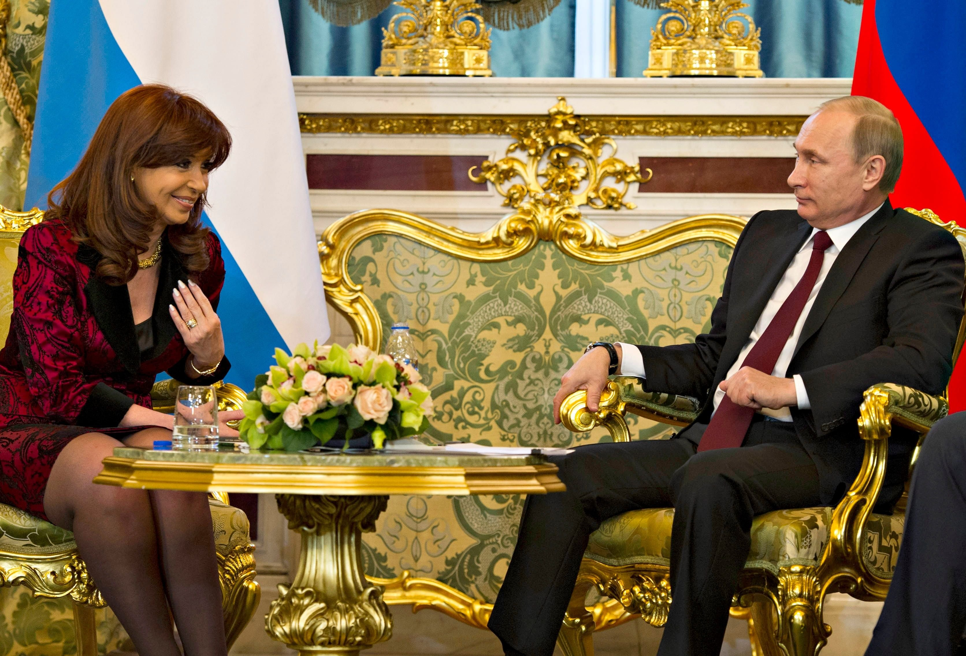 Cristina Kirchner y Vladimir Putin| Alejandro Amdan