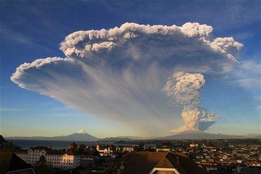 Entró en erupción después de 43 años.
