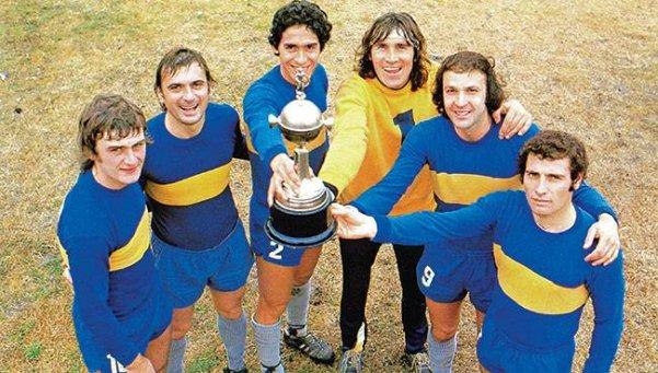 Maradona saludó a Boca: