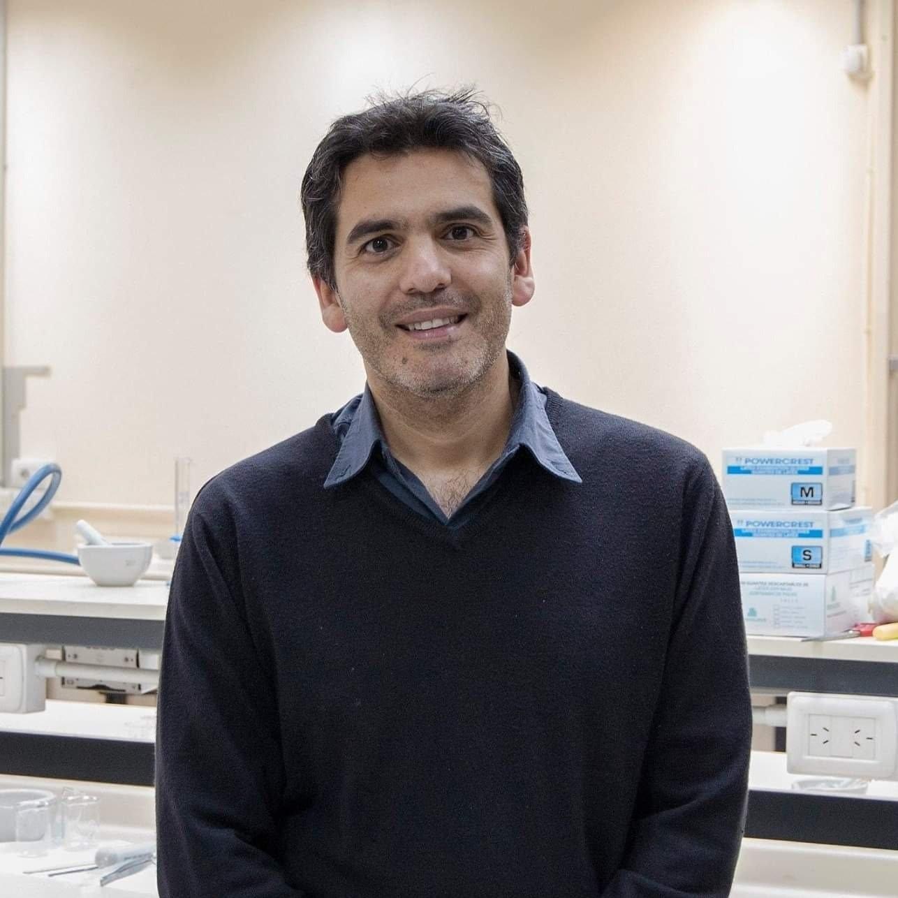 Santiago Palma, uno de los científicos participantes en el estudio.