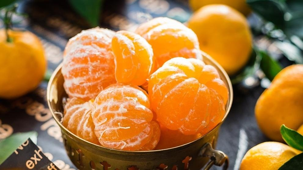 Las mandarinas aportan una gran cantidad de vitamina C.