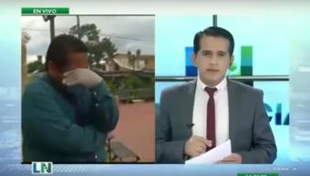 Coronavirus: el llanto desconsolado de un periodista ecuatoriano al informar la cantidad muertos