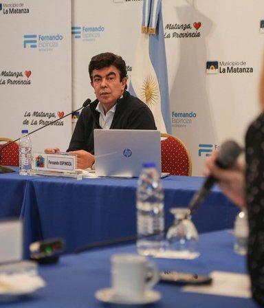 """Fernando Espinoza: """"En La Matanza la situación está contenida"""""""