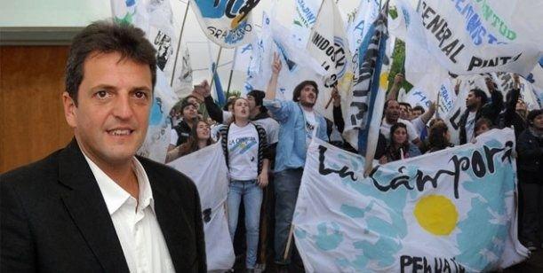 """La Cámpora teje un """"operativo contención"""" para Sergio Massa"""