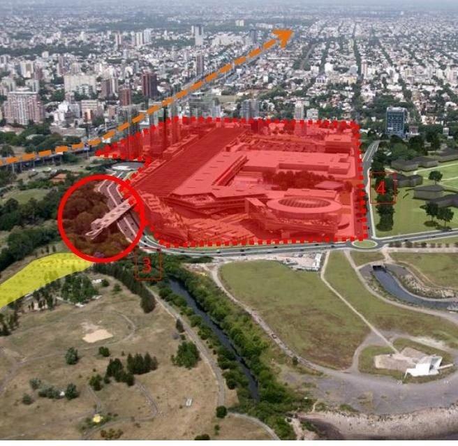 Afirman que De Narváez ocupó terrenos de la Ciudad