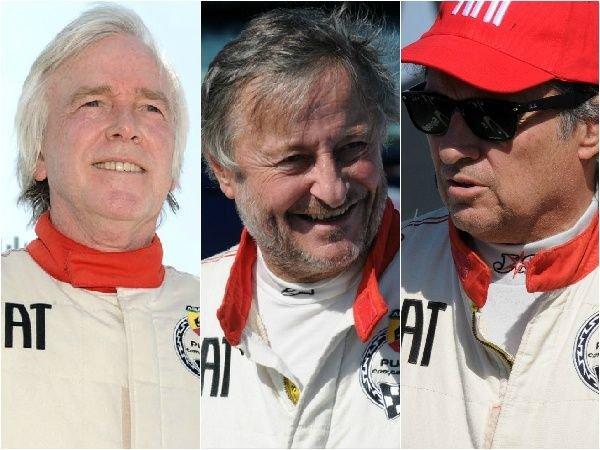 Stuart Milne, Rattazzi y Miguens se miden en las pistas.
