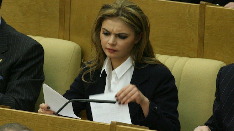Alina Kabaeva, la supuesta madre de los niños.