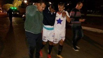 Violencia en el fútbol: el brutal ataque a los jugadores de Peñarol de San Juan