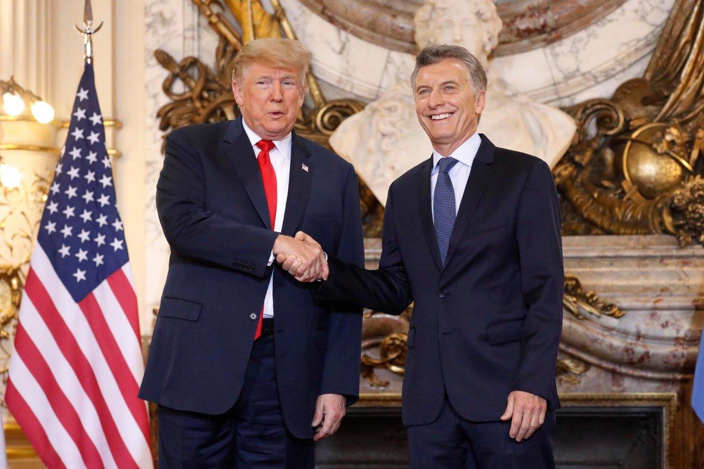 País: Macri habló con Trump que respaldó las medidas económicas