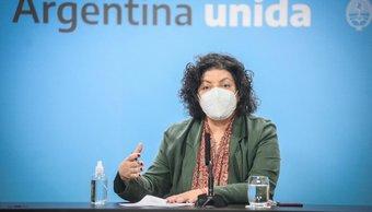 """Vizzotti sobre Almeyda y la """"falsa"""" compra de vacunas: """"No se condice con el marco legal"""""""