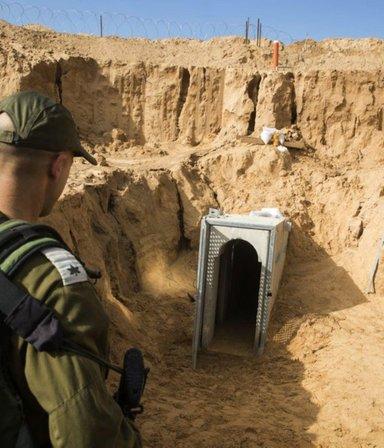 """Israel bombardeó """"El metro"""", los túneles secretos en Gaza del grupo terrorista Hamas"""