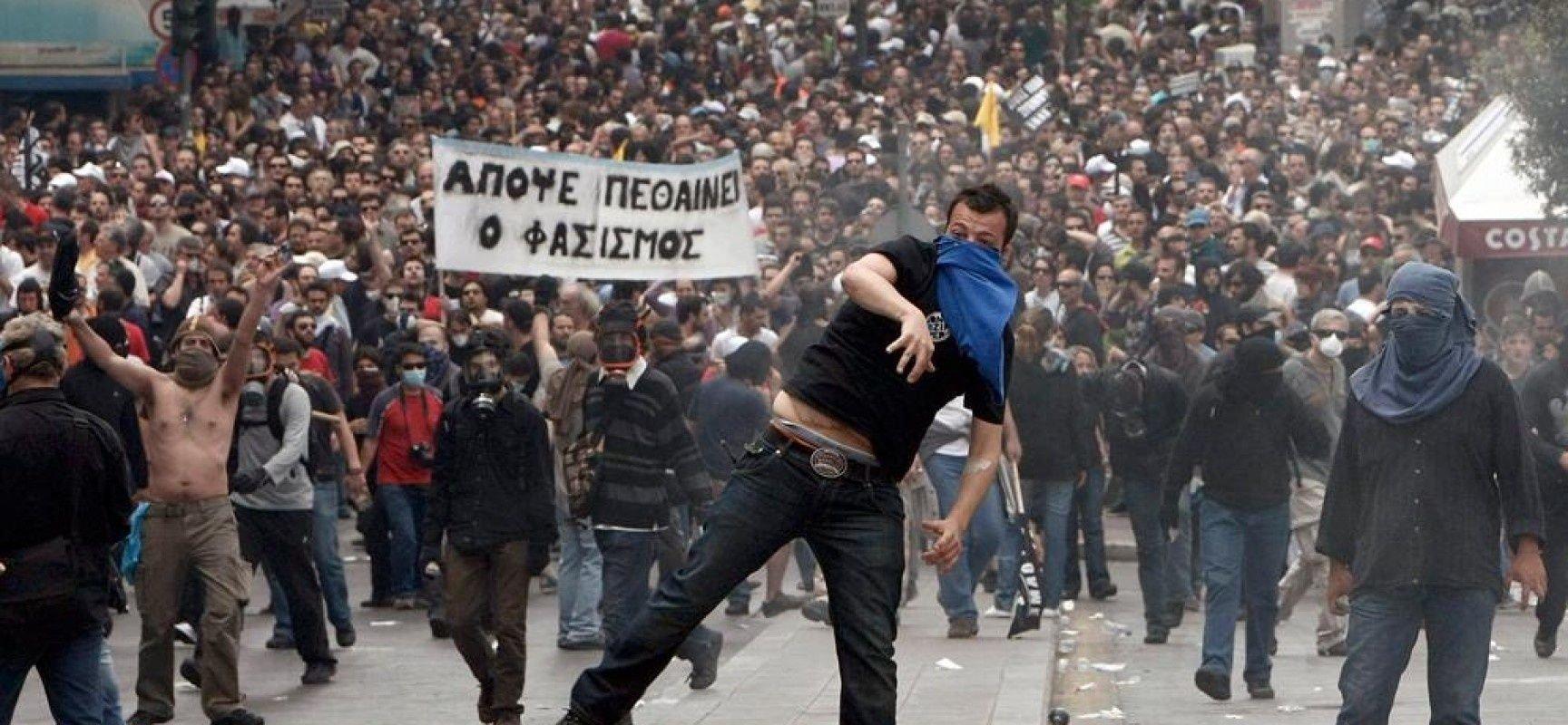 La crisis de Grecia repercute en toda Europa.