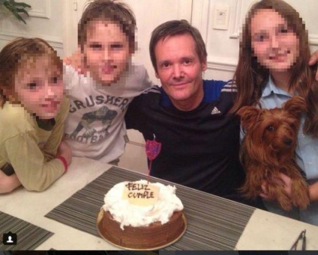 Fernando Farré y sus hijos