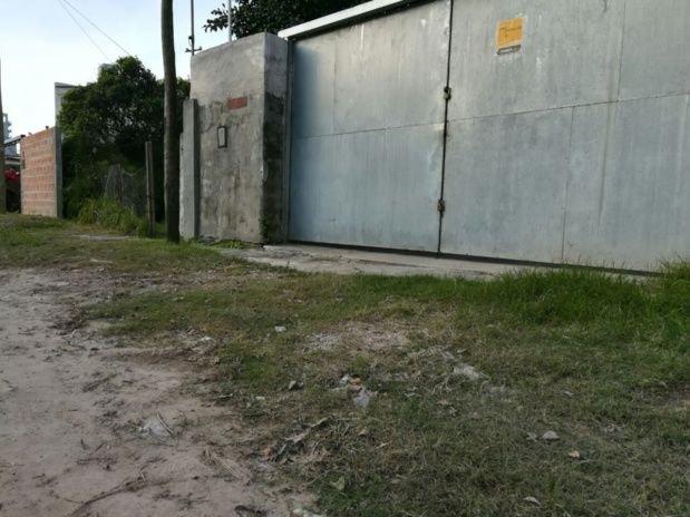 Este es el lugar en el que Nahir asesinó a Fernando.