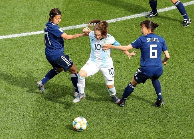 Banini, la capitana y estrella de la Selección argentina.