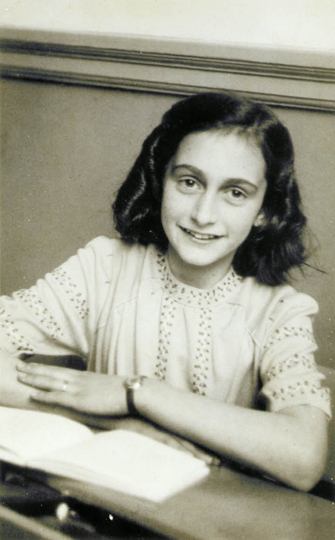Ana Frank soñaba con ser escritora.