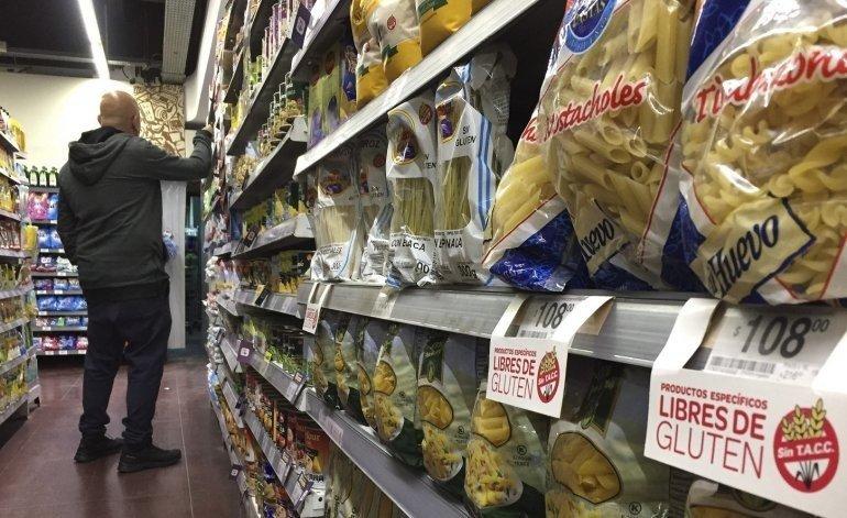 Las ventas en los supermercados cayeron un 12,6%