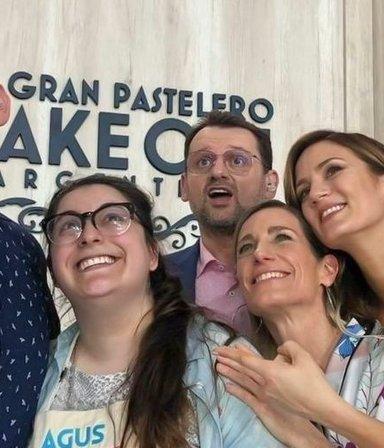 """La triste despedida de los concursantes de Bake Off a Agustina Fontenla: """"Que injusta que es la vida"""""""