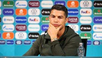 El gesto de Cristiano Ronaldo por el que Coca-Cola perdió 4.000 millones de dólares en 30 minutos