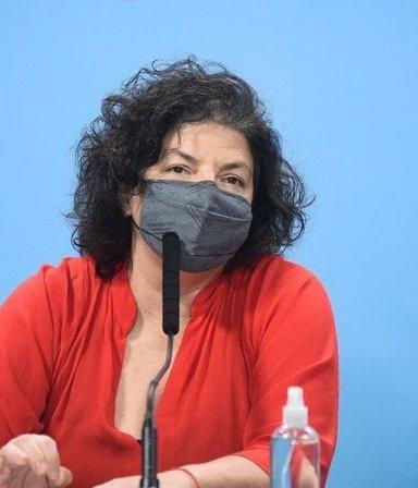 Covid: Vizzotti aseguró que todos los de riesgo están vacunados y habló de aplicar una tercera dosis