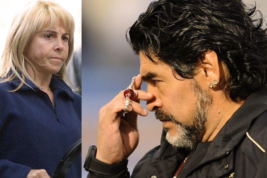 Claudia y Diego en disputa por $80 millones