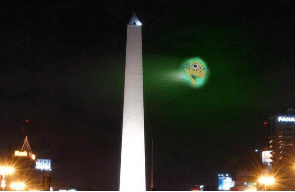 ¿Mr. Burns en el Obelisco?